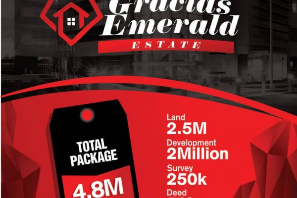 New price of Gracias Emerald estate Abijo